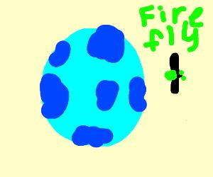 Firefly from an Alien Planet