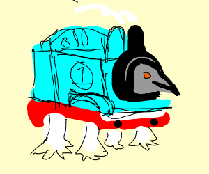 Thomas the penguin engine