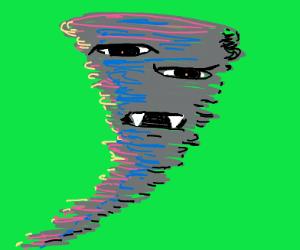 spooky tornado
