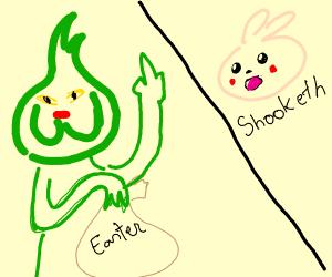 grinch steals easter easter bunny shook