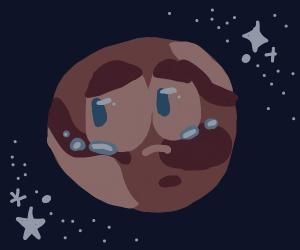 a depressed jupiter :c