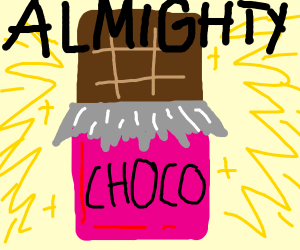 the almighty chocolate