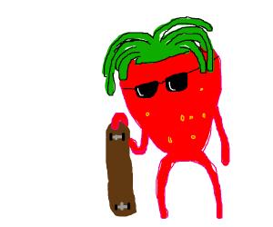 Skateboard fruit