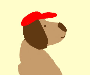 Dog with a Hat