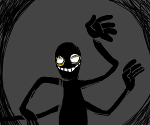 4 armed shadow monster
