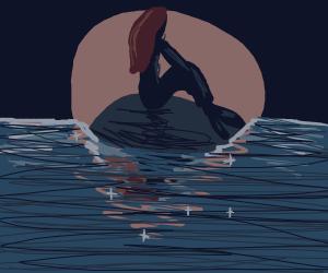 The darkest Little Mermaid my eyes have seen