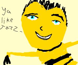 """Barry asks """"Ya like Jazz?"""""""