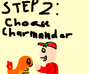 step 1: become a pokémon trainer