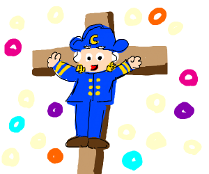 captain crunch is crucified