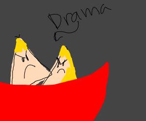 Nachos drama