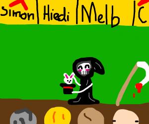 The grim reaper is a magician