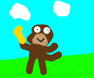 A moonkey