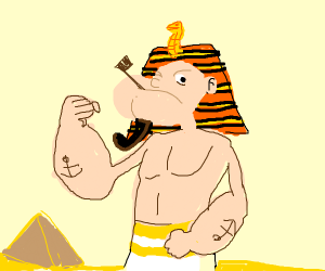 egyptian popeye