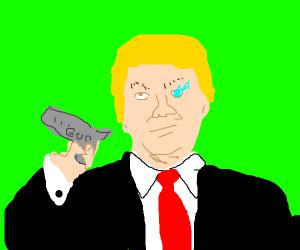 Trump shooting guns