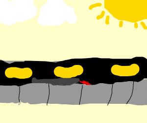 Knife in the street