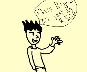 Man Describes Rich Pilgrim