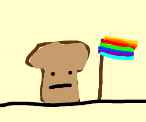 Loaf of bread supports trans rights