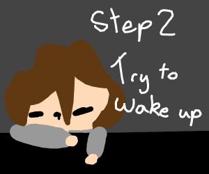 Step 1: See a Creeper and say Aww Man