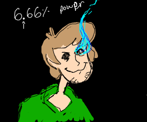 Shaggy at 666 percent of his power