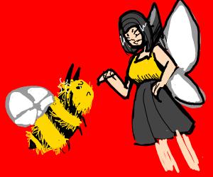 Bee vs fairy