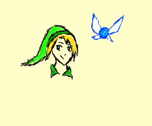 Link and that fairy