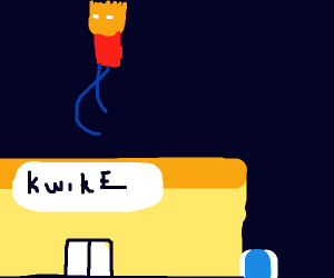 Bart Goes To Kwik-E-Mart