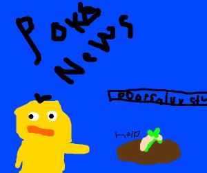 Poke-news: Snivy stuck in mud