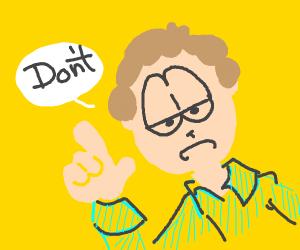 Jon Arbuckle Gives Life Advise