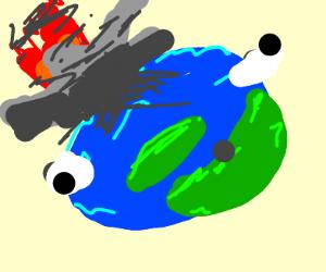 Earths mind is blown