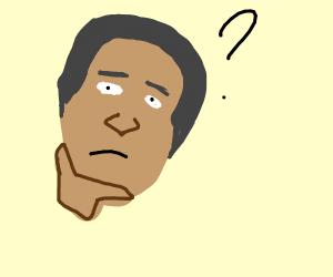 thinking face: obama