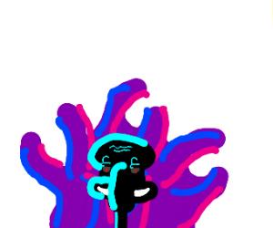 cursed squidward