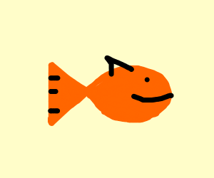 happy lil fishy boi
