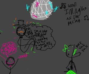 Panic at the disco (someone panicking)