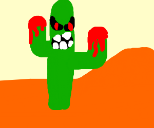 bloody cactus