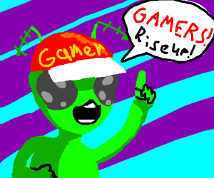 Alien tells gamers to rise up
