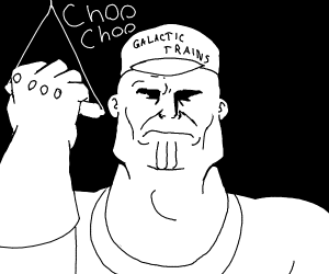 thanos the choo choo train