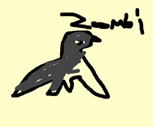 Zombie penguin!