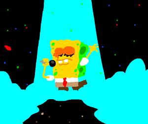 spongebob gives an epic speech
