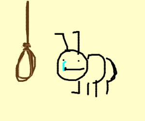 ant commits suicide