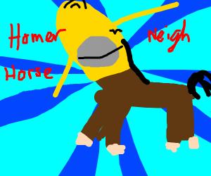 Half Homer, Half Horse