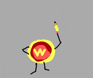 Wonder woman symbol-ception