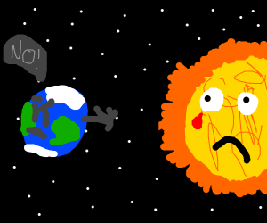 the planets reject the sun