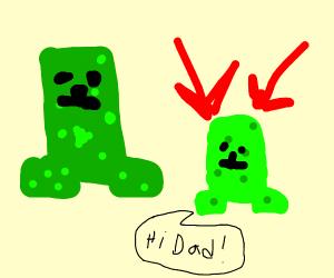 Creeper's son
