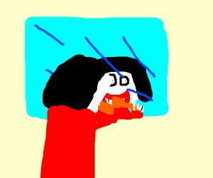 JEFF THE KILLER BRUSHES HIS TEETH!!!!!!11!!!!
