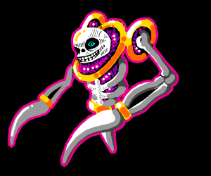 Sans ascends and becomes a Celestial