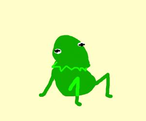 Kermit sitting