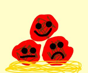 Scared Lasagna - Drawception