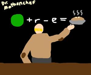 (green)+r-e= pie