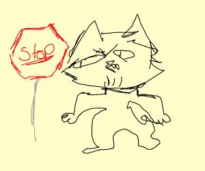 Stop Sign Professor