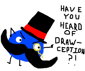 Mad mustache man tells you about drawception.